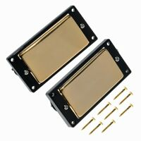 Gold Belcat Double Coil Humbucker Set Ceramic for Guitar Parts Replacement