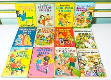 Lot of 12x Vintage Enid Blyton Children's Books! Fairy Stories & Anytime Tales!