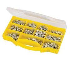 650 Pce Aluminium Pop Rivet Assorted Sizes Blind 3.2mm to 5.8mm in Plastic Case