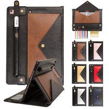 Envelope Contrast Color Card Pocket Stand Shockproof Case For iPad 5/6/7 Air 1/2