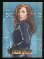 2012 Marvel Avengers Assemble Movie Heroes/Villains Evolve E-34 Black Widow