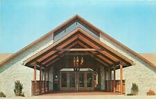 Glouster OH~$2.1M Burr Oak Lodge~Ohio Inns Inc~Cottages~1960s~Postcard