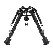 6-9 Inch Adjustable Handy Spring Return Sniper Hunting Tactical Rifle Bipod BG