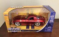 Jada Big Time Muscle 1963 Chevrolet Corvette  Sting Ray 1:24 Model Car Die Cast