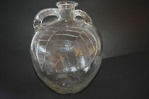 "Vintage 1920's White House Apple Cider Vinegar Bottle 10"" Embossed Antique"
