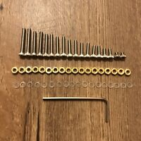 Turntable Headshell cartridge Mounting Screws 55 Piece Set