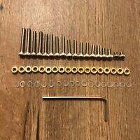Turntable Headshell cartridge Mounting Screws 55 Piece Set