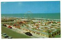 C.1960 Daytona Beach FL Amusement Center on The Boadwalk Postcard