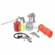 5pce compressore d'aria strumenti e accessori kit completo per gonfiare Spray & Clean