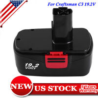 New 19.2V For Craftsman C3 130279005 Ni-MH Battery 11375 11376 C3 Cordless 11374