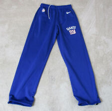 NIKE New York Giants Pants Adult Small Blue NFL Football Warm Up ThermaFit Mens