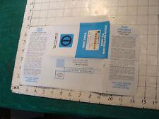 HIGH GRADE vintage paper: 1971 unused DINERS CLUB APPLICATION credit card