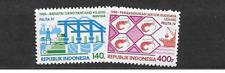 1988 MNH Indonesia Michel 1252-3 postfris**