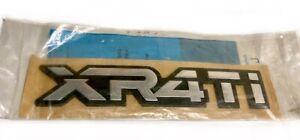 ★ NEW NOS 1985-1989 Merkur XR4Ti Rear Badge Emblem OEM RARE Ford of Germany ★