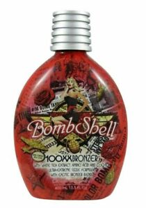 DESIGNER SKIN BOMBSHELL 100XX Tingle Bronzer Tanning Lotion 13.5oz