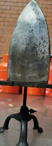 Antique Sad Iron Sphinx 4, Charcoal Hot Coal Burning Cloths Iron