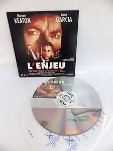 Laserdisc CDV L'Stakes Film VF Michael Keaton, Andy Garcia