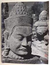 Photo 尼采 nícǎi - Sculpture - Chine China - Tirage argentique 1950 - 30 x 40 -