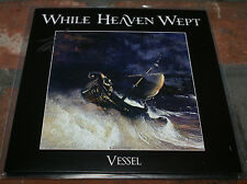 "While Heaven Wept Vessel 7"" EP Gold Vinyl Factory New AUTOGRAPHED By Phillips"