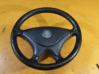MERCEDES R170 SLK Black Leather Steering Wheel 2002
