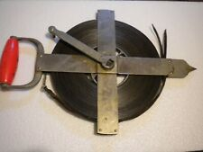 Lufkin 200 ft. steel Highway drag chain and reel