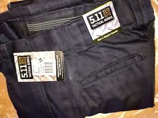 NWT 64302 Women's 511 Tactical 5.11 Station Pants Fire Navy 720 Size 4 Reg NEW!
