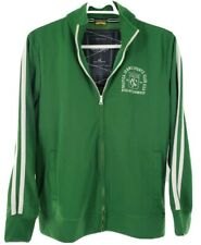 Vintage Nautica Jeans Mens Sports Club Crest USA Sailing Jacket Sz Lg Green