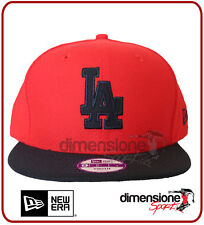 NEW ERA CAPPELLO RAGAZZO ROSSO YOUTH SNAPBACK DIAMOND LOS ANGELES LA DODGERS