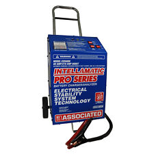 Associated ESS6008 Battery Charger, 12V 60A Intellamatic Wheels
