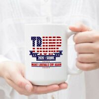 Trump 2020 - Donald Trump Gift Mug - Novelty Ceramic Coffee Mug Funny Gifts Mug