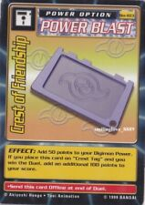 DIGIMON BOOSTER SERIES 2 CARD LOT - Bo-103 CREST OF FRIENDSHIP + 4 COMMON CARDS