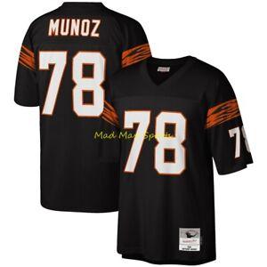 ANTHONY MUNOZ Cincinnati Bengals MITCHELL & NESS Throwback LEGACY Jersey S-2XL