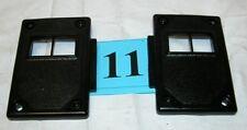 82-92 Camaro 82-86 Firebird Black Power Lock Switch Mounting Panels NICE  #11
