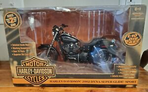RC2 American Muscle 2002 Harley-Davidson 2002 Dyna Super Glide Sport -New-Black