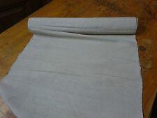 A Homespun Linen Hemp/Flax Yardage 3 Yards x 19'' Plain  # 8336