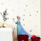 "Removable Wall Sticker Home Decor Birthday Part Au Stock ""frozen Princess"""
