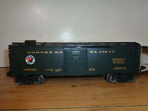LIONEL O GAUGE # 6-19813 NORTHERN PACIFIC ICE CAR W/12 ICE BLOCKS AND BOX