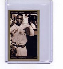 Satchel Paige, '37 Ciudad Trujillo Dominican League, chocolate bubble gum card