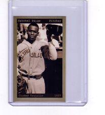 Satchel Paige, 1937 Ciudad Trujillo Dominican League, chocolate bubble gum card