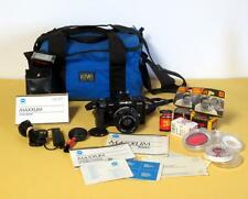 Minolta Maxxum 7000 35mm SLR Camera w/ AF 35-70mm 1:4 Lens Bundle + Extras