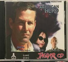 AMERICAN HERO GAME DEMO Atari Jaguar CD