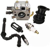 Carburetor For Stihl 034 036 MS340 MS360 Carb Air Fuel Filter Oil Filter Kit