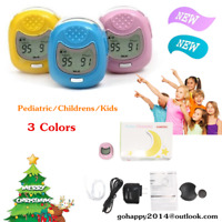 Child kids Finger tip Pulse Oximeter Blood Oxygen meter SpO2 Heart Rate Monitor