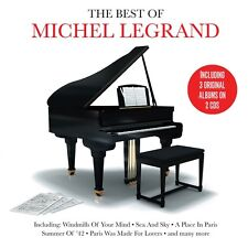 Michel Legrand BEST OF Holiday In Rome / I Love Paris / Vienna Holiday NEW 2 CD