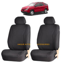 BLACK SPEED AIRBAG COMPATIBLE FRONT LOWBACK SEAT COVER for PONTIAC GRAND PRIX