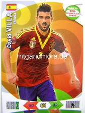 Adrenalyn XL-david villa-españa-Road to 2014 FIFA World Cup Brazil