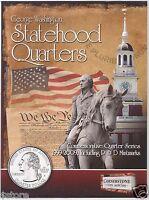 1999-2009 P & D BU Statehood DC & US TERRITORIES Washington Quarters Collection