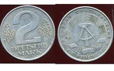 ALLEMAGNE  DDR  2 mark  1957