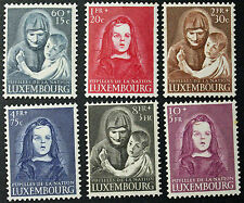 LUXEMBOURG timbres/Stamps Yvert et Tellier n°433 à 438 n* (cyn8)