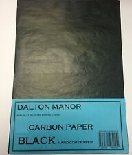 24 SHEET A5  CARBON PAPER  HAND COPY  - BLACK